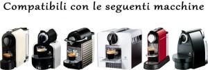macchine nespresso caffe