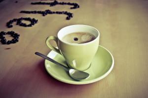 tazza di caffe espresso